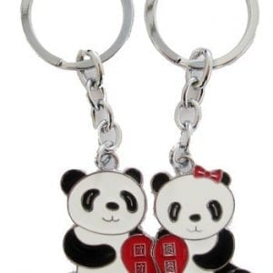 4EVER-Romantic-Stainless-Alloy-China-National-Treasure-Animal-Pandas-Couple-Keychain-Pendant-Gift-Boxed-Lovely-Lovers-Sweetheart-Key-Ring-Chain-Best-Gift-for-Valentines-Day-Wedding-Anniversary-A-Pair-0