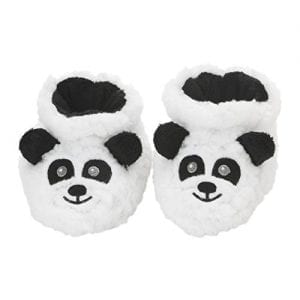 Baby-Snoozies-Plush-Sherpa-Animal-Booties-Panda-Large-6-12-Months-0