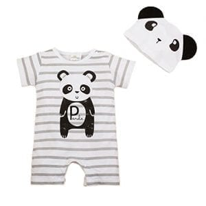 Bebone-Baby-Infat-Toddler-Cotton-Animal-Cartoon-Romper-Jumpsuit-with-Hat-12-18M-Panda-0