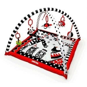 Black-White-Red-Activity-3D-Playmat-Gym-0