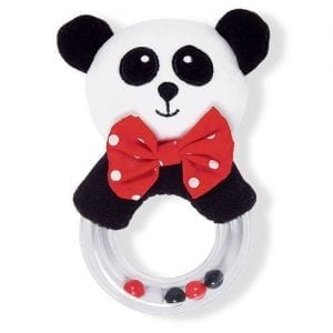 Black-White-Red-Plush-Panda-Baby-Rattle-0