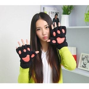 Greenery-Girls-Funny-Bear-Panda-Paw-Claw-Plush-Thick-Half-Finger-Warmer-Winter-Gloves-Toy-Party-Cosplay-Costume-0