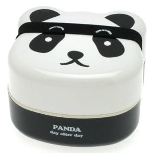 Kotobuki-280-129-2-Tiered-Bento-Box-Panda-Face-0