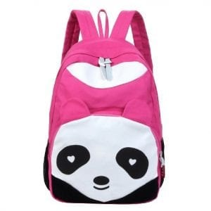 Leegoal-Pink-Backpacks-with-Panda-Design-0