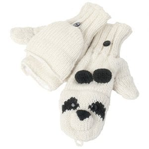 Nirvanna-Designs-MTPAND2C-Panda-Cover-Mittens-BlackWhite-Adult-0