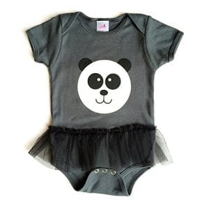 Panda-Tutu-Onesie-3-6mos-Asphalt-Grey-Made-in-USA-0