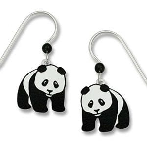 Sienna-Sky-Black-White-Panda-Bear-Drop-Earrings-869-0