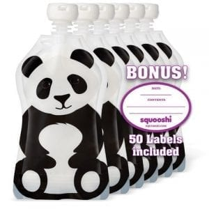 Squooshi-Reusable-Food-Pouch-Panda-6-Pack-Refillable-Squeeze-Pouches-for-Kids-of-All-Ages-0