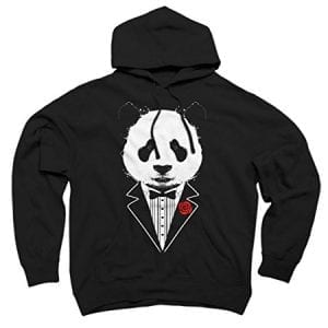 Tuxedo-Panda-Mens-Small-Black-Graphic-Pullover-Hoodie-Design-By-Humans-0