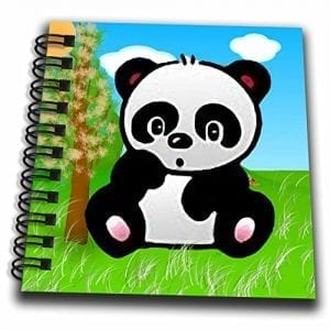 3dRose-db57323-Panda-Bear-Mini-Notepad-4-by-4-0