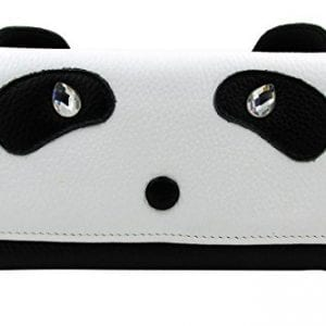 ArtsEye-Genuine-Leather-Cute-Panda-Envelop-Wallet-Clutch-Purse-0
