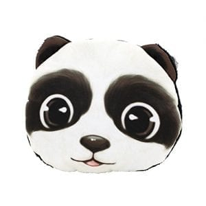 Cartoon-3D-Lifelike-Animal-Face-Pattern-Zipper-Wallet-Bag-Keys-Pouch-Coin-Purse-Panda-0