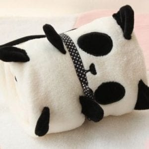 Cute-Cartoon-Panda-Pola-Fleece-Air-condition-Blanket-Cushion-0
