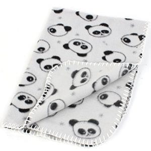Gray-Black-Panda-Print-Fleece-268-x-197-Dog-Warmer-Blanket-Carpet-0