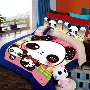 Luk-Oil-Cartoon-Panda-Home-Textiles-Bedding-Sets-3pcs-Bed-Sheets-Soft-Duvet-Cover-Sets-Singledouble1-Duvet-Cover-1-Bed-Sheet-1-Pillow-Cases-0