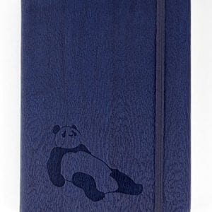 Red-Co-Journal-with-Embossed-Panda-240-Pages-5x-7-Lined-Navy-Blue-0