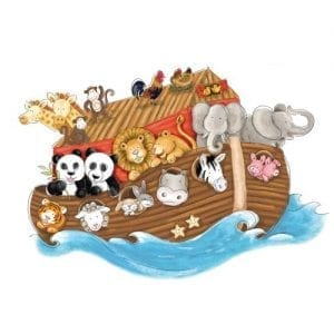 RoomMates-RMK2036SLM-Noahs-Ark-Peel-and-Stick-Giant-Wall-Decals-0