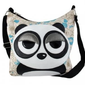 Sleepyville-Critters-Panda-Floral-Canvas-Shoulder-Bag-0
