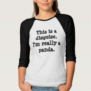 This is a disguise Ladies T Shirt