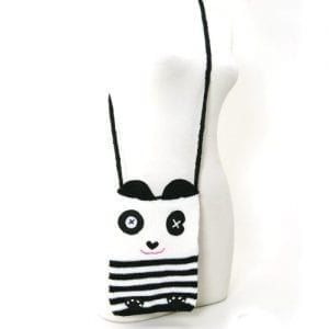 Unique-Knitted-Panda-Cross-Body-Shoulder-Bag-Purse-0