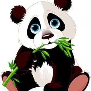 Wallmonkeys-Panda-Eating-Bamboo-Peel-and-Stick-Wall-Decals-24-in-H-x-21-in-W-0