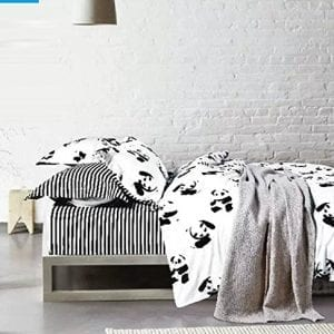 White-and-Back-Animal-Lovely-China-Panda-Home-Textile-Animal-3d-Bedding-Set-4pcs-Bedding-Set-Queen-Size-Duvet-Cover-Bed-Sheet-Pillow-Case-100-Cotton-Christmas-Gift-0