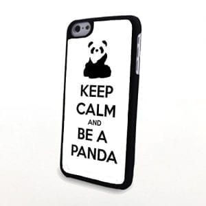 Generic-Phone-Accessories-Matte-Hard-Plastic-Phone-Cases-Quote-Keep-Calm-and-Be-a-Panda-fit-for-Iphone-5C-0