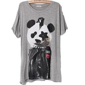 2015-New-Summer-Womens-Modal-Loose-T-Shirt-Panda-Pattern-0