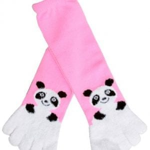 Animal-Design-Fuzzy-Cozy-Long-Toe-Socks-Panda-0