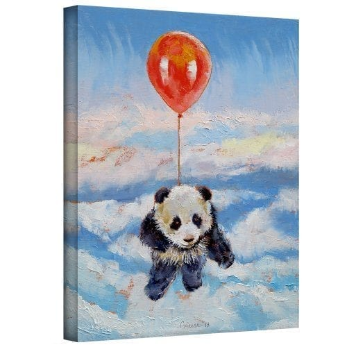 Art-Wall-Balloon-Ride-Gallery-Wrapped-Canvas-Art-by-Michael-Creese-24-by-18-Inch-0
