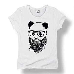 Hipster-Panda-Boho-Glasses-Cool-Funny-Cute-Fashion-Novelty-Ladies-T-Shirt-0