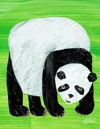 Oopsy-Daisy-Eric-Carles-Panda-Bear-Cover-Stretched-Canvas-Wall-Art-14-by-18-Inch-0