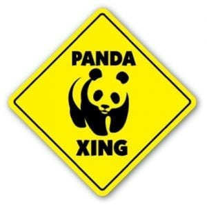 PANDA-CROSSING-Sign-xing-signs-bear-zoo-china-gift-0