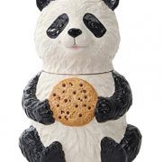 Pacific-Trading-Chinese-Panda-Cookie-Jar-Ceramic-Kitchen-Accessory-Black-and-White-0