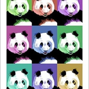 Panda-Pop-Art-Visit-the-Zoo-9x12-Art-Print-Wall-Decor-Travel-Poster-0