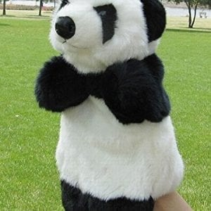 Panda-puppet-stuffed-doll-toy-finger-puppet-0