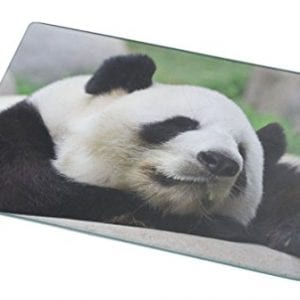 Rikki-Knight-RK-LGCB-1138-Panda-Glass-Cutting-Board-Large-White-0