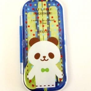 Triple-Cutlery-Set-Blue-Jolly-Panda-Spoonforkchopsticks-0