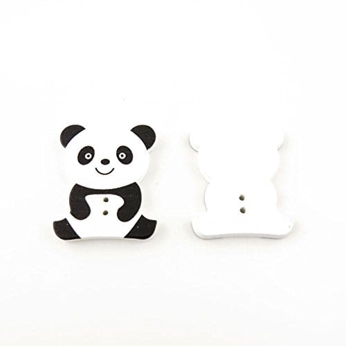 10-Pieces-Sewing-Clothing-Buttons-Sew-On-Wooden-Wood-Knopfe-BB0504-Sitting-Panda-Colorful-Plush-Lovely-Accessory-Decoration-Handmade-Cute-Scrapbook-Flatback-DIY-0