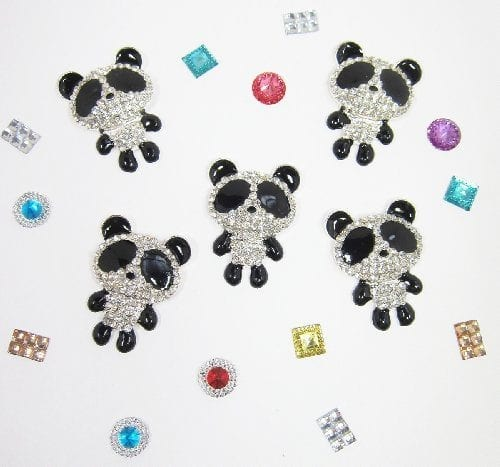 5-pc-3D-Rhinestone-Panda-Cabochon-for-DIY-Bling-Mobile-Phone-Case-Decoration-0