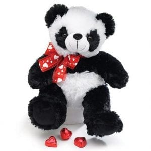 Adorable-Plush-Panda-Teddy-Bear-Measures-10-High-Sitting-0