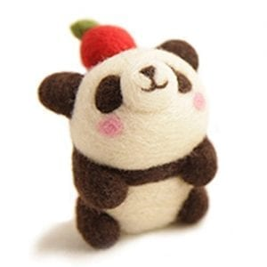 CHICVITA-Diy-Needle-Felting-KitsApple-Panda-0