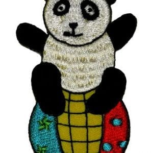 Funny-Cute-Panda-on-the-Ball-DIY-Applique-Embroidered-Sew-Iron-on-Patch-0