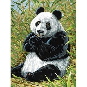 Junior-Paint-By-Number-Kits-9X12-Panda-0