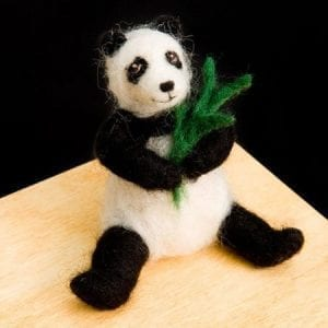 Panda-Bear-Wool-Needle-Felting-Craft-Kit-by-WoolPets-Made-in-the-USA-0