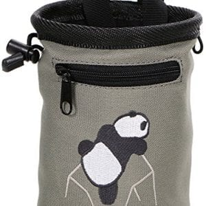 AMC-Climbing-Chalk-Bag-w-Panda-EmbroideryFront-PocketBelt-Grey-6H-x-4D-0