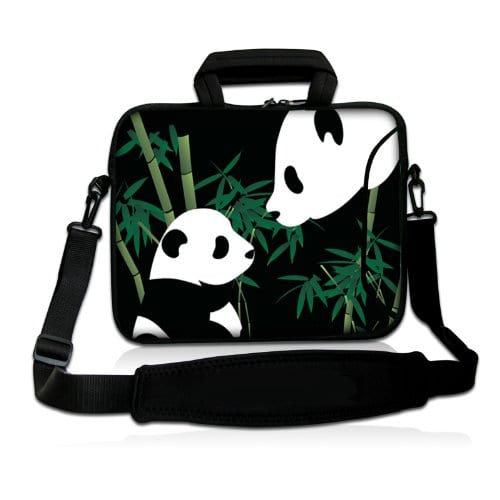 Cute-Panda-15-154-156-inch-Notebook-Laptop-Shoulder-Case-Sleeve-Carrying-bag-for-Apple-MacBook-Pro-15-154-Dell-Inspiron-15R-Vostro-XPS-Alienware-M15X-ASUS-A55-K55-N56-X54-Sony-E15-S15-EL2Lenovo-ThinkP-0