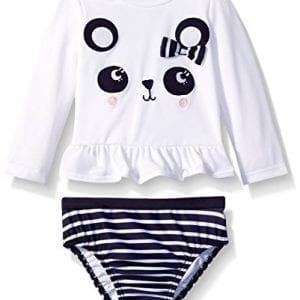 Gymboree-Baby-White-Panda-Rashguard-With-Stripe-Bottom-Swim-Set-Multi-12-18-Months-0