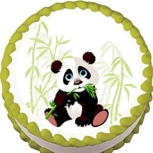 Panda-and-Bamboo-Birthday-Edible-Cake-Topper-0