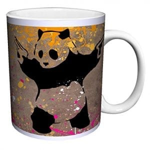 Banksy-Panda-Guns-Decorative-Graffiti-Urban-Animal-Art-Ceramic-Gift-Coffee-Tea-Cocoa-11-Oz-Mug-0